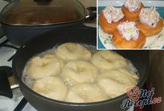 Mashed Potatoes, Pineapple, Food And Drink, Pudding, Chicken, Fruit, Ethnic Recipes, Basket, Whipped Potatoes