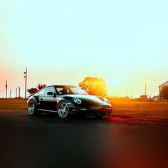 Papers.co wallpapers - ar43-porche-art-sunset-nature-supercar - http://papers.co/ar43-porche-art-sunset-nature-supercar/ - car, sky