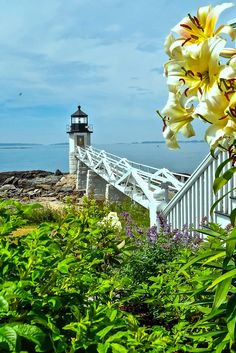 Maine Lighthouses and Beyond: Marshall Point Lighthouse. To enjoy my site on lighthouses click on the above photo.