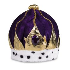 Purple Velvet Royal Crown Holiday Parties, Holiday Decor, Kings Crown, Purple Velvet, Crown Royal, Masquerade Ball, Mardi Gras, Party Supplies, Christmas Bulbs