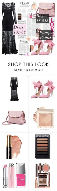"""""""Newchic 28"""" by amra-softic ❤ liked on Polyvore featuring Anja, Bobbi Brown Cosmetics, Christian Dior and Charlotte Tilbury"""