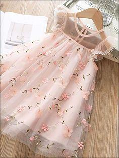 Girls Lace Dress, Cute Girl Dresses, Little Girl Dresses, Flower Girl Dresses, Dress Lace, Baby Tulle Dress, Lace Dress For Kids, Kid Dresses, Girls Dresses Sewing