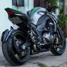 J-Style - Custom Motorcycles - Motos Kawasaki, Kawasaki Motorcycles, Cool Motorcycles, Kawasaki Ninja, Motorcycle Wheels, Moto Bike, Ducati, K100 Bmw, Motos Harley