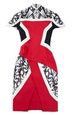 Pre-Order Peter Pilotto Red Farah Dress