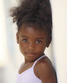 Beautiful Black Babies, Beautiful Children, Beautiful People, Black Baby Girls, Black Kids, Darkskin Babies, Cute Kids, Cute Babies, Curly Hair Styles