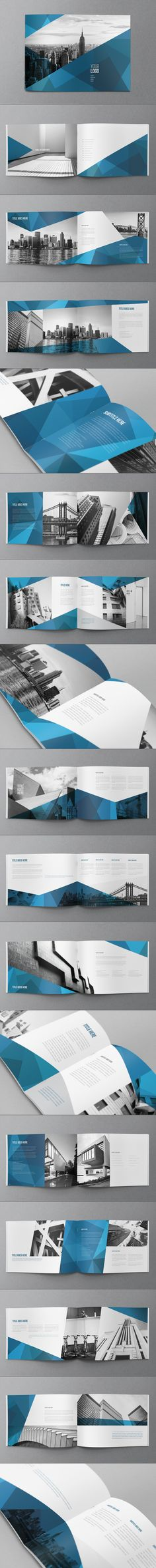 Abstract Architecture Brochure by Abra Design, via Behance // identity, branding, graphic Graphisches Design, Buch Design, Layout Design, Print Design, Design Elements, Modern Design, Corporate Design, Branding Design, Design Brochure