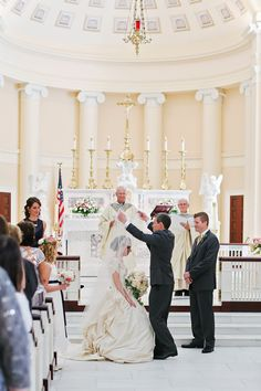 Caroline and Justin's Catholic wedding at the Baltimore Basilica. Father of the bride lifting the veil. Images by Jalapeno Photography. Trendy Wedding, Perfect Wedding, Dream Wedding, Wedding Day, Wedding Album, Wedding Things, Wedding Stuff, Wedding Bible, Catholic Wedding