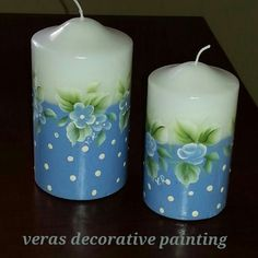 candles painting