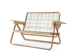 Folding Couch by Dennis Parren