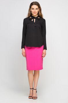 Blouse Models, Dresses For Work, Spandex, Fancy, Sexy, Skirts, Fashion, Moda, Fashion Styles