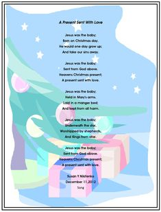 Xmas Stuff For > Christian Christmas Poems For Kids Christmas Poems Christian, Kids Christmas Poems, Christian Poems, Childrens Christmas, Preschool Christmas, Christmas Quotes, A Christmas Story, Christmas Angels, Christmas Readings