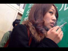 Charming Japanese girl smoking 132