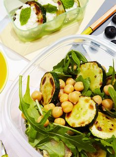 How To Make A Chickpea Bowl With Zucchini Toast+#refinery29