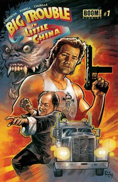big trouble in little china 1 cover From the Big Screen to Comics, the Other Way Round: Big Trouble in Little China