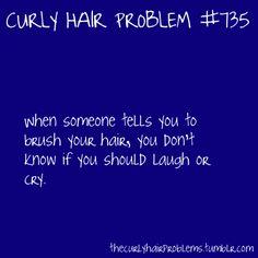 curly hair problem #735