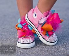 Ribbons and Diamonds Converse