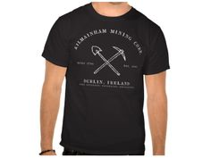 Shillelagh Hiking Club, Style is Basic T-Shirt, color is Black St Patrick Snakes, Hiking Club, Irish Design, Club Style, Mens Tops, T Shirt, Color, Black, Supreme T Shirt