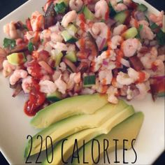 Twins + One, How Mama Got Her Groove Back: Shrimp Cocktail Salad. Clean eating.  Mexican shrimp cocktail.  Advocare 24 day challenge