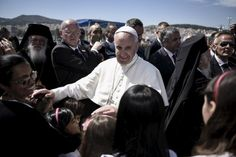 Δημιουργία - Επικοινωνία: Πάπας Φραγκίσκος: Από τη Λέσβο εξαφάνισε τους φράχ...