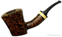 New Tobacco Pipes: Alexander Tupitsyn Smooth Cherrywood with Boxwood at Smokingpipes.com