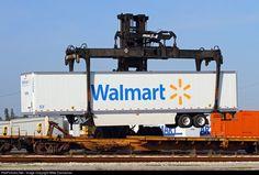 High quality photograph of Florida East Coast Railroad (FEC) Mi-Jack Series III # at Fort Pierce, Florida, USA. Canadian Pacific Railway, Union Pacific Railroad, Breaker Breaker 19, Florida East Coast, Railroad History, Railroad Photography, Road Train, Show Trucks, Train Engines