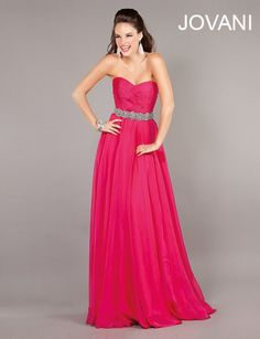 Ultimate Fashions carries Jovani Style 2731 #fashion #prom #pink