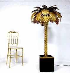 Brass lamp Jansen