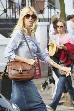 Claudia Schiffer Photo - Claudia Schiffer in North London