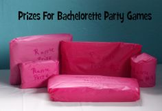 Prizes to hand out for bachelorette party games!
