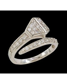 sterling & cz horseshoe nail ring... i love love love this!!!!!! i need to find one somewhere!!!!