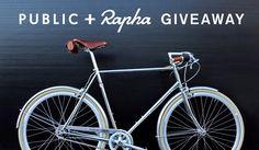 PUBLIC + Rapha Giveaway
