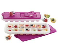 Tupperware | Freezer Mates(r) Fresh & Pure Ice Trays set of 2 www.my2.tupperware.com/laurabailey