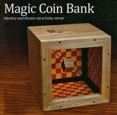 Exploding Coin Bank Plans - Woodworking Plans and Projects   WoodArchivist.com