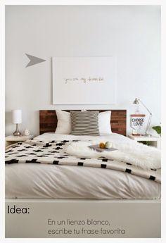 Personalizar cabecero | Decorar tu casa es facilisimo.com