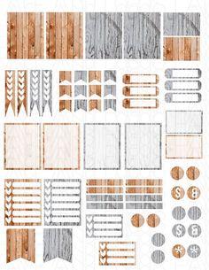 Printable Planner Stickers Erin Condren MAMBI by LaceAndLogos: