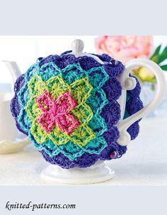 Crochet Tea Cozy Free Pattern