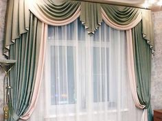 Home Curtains, Luxury Window Treatments, Curtains Living Room, Elegant Curtains, Living Room Decor Curtains, Luxury Curtains, Latest Curtain Designs, Curtain Styles, Window Curtain Designs