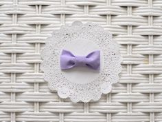 Baby Girl Clip, Lavender Hair Bow by RicheyandRoo on Etsy, $3.00