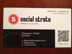 Business cards, are they obsolete?
