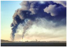 Richmond Refinery Fire, photo: H. Mack Horton:  Tell Chevron: Oil and democracy don't mix! https://secure.sierraclub.org/site/Advocacy?pagename=homepage&page=UserAction&id=15083&s_src=710ZSCSH01#.VT_oCPflljQ.twitter