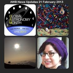 """Check out the latest AWB News Updates - http://www.astronomerswithoutborders.org/component/acymailing/archive/view/listid-6-newsletter/mailid-66-awb-updates.html?Itemid=461    Don't forget to subscribe to AWB News mailing - http://www.astronomerswithoutborders.org/news/newsletters/subscribe.html    Share with your friends. """"One People, One Sky"""""""
