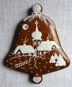 Gingerbread Cookies, Christmas Cookies, Christmas Ornaments, Christmas Decorations, Holiday Decor, Cookie Decorating, Holiday Recipes, Biscuits, Recipies