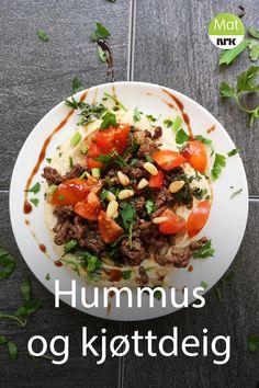 Tahini, Hummus, Tapas, Beef, Dinner, Food, Red Peppers, Meat, Dining