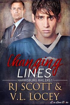Check out the cover reveal for the M/M hockey romance Changing Lines by Rj Scott & VL Locey & there's 40hrs left on a $15 Amazon GC Giveaway                                                 http://padmeslibrary.blogspot.com/2017/06/cover-reveal-changing-lines-by-rj-scott.html