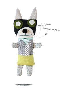 Honoré le chien/kit, cute doggie!   Sardine Shop