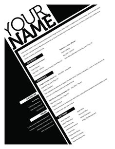 Your resume is one of your best marketing tools. The goal of your resume is to tell your individual story in a compelling way that drives prospective employers to want to meet you. Cv Design, Resume Design, Graphic Design, Report Design, Design Trends, Marca Personal, Personal Branding, Format Cv, Marketing