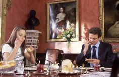 When you wished that you too could eat breakfast with Colin Firth.