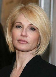 14.Short de pelo para mujeres mayores de 40