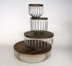 Phase Design | Reza Feiz Designer | Wired Side Table - Phase Design | Reza Feiz Designer