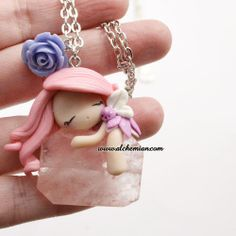 1 keeper of the dreams fairy doll ooak necklace por AlchemianShop, €38.00